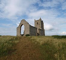Chapel of St Michael - Burrow Mump by kalaryder