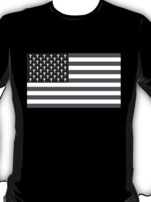 Goth Bless America B/W T-Shirt
