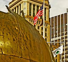 """The Sphere"" sculpture - Battery Park- New York, New York by michael6076"