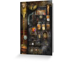 Steampunk - All that for a cup of coffee Greeting Card
