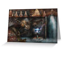 Steampunk - Industrial Society Greeting Card
