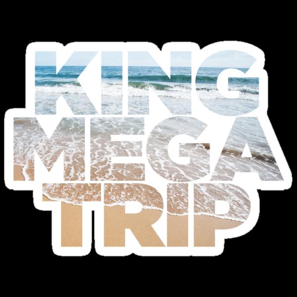 King Megatrip Neo Logo - Beach by Megatrip