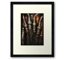 Steampunk - Pipes Framed Print