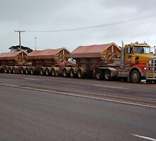 Road Train by Phyxius