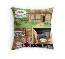 Bringing a Needle to a Rat Fight page1 Throw Pillow