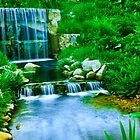 beautiful waterfall by nicunickie
