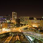 birmingham cityscape by nicunickie
