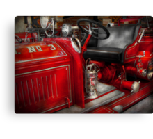 Fireman - Fire Engine No 3 Canvas Print