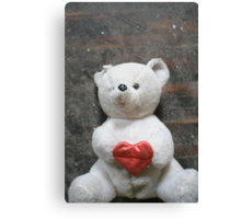 I love you beary much! Canvas Print