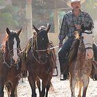 Country side - Mexican Cowboys - El campo - rancheros by Bernhard Matejka
