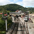 LLangollen railway station by Peter  Thomas