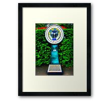 The Classic WSG, Edinburgh Zoo, Scotland Framed Print
