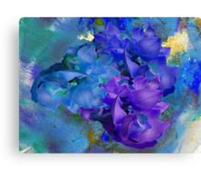 Blue Orchids Canvas Print