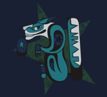 SDC: Teal Haida by Skulldog