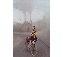 M Blackwell - Contamination?  What contamination? Photographic Print