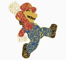 Sticker: A Very Wordy Hero by joshmirm
