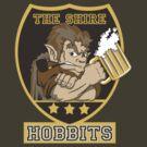 The Shire Hobbits by Faniseto