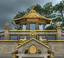 Kadampa Buddhist Temple by Jamie  Green