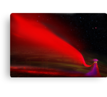 Red Night Canvas Print