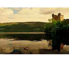 """""""CALM ON THE LOCH"""" Photographic Print"""