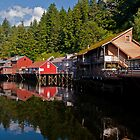 Creek Street, Ketchikan Alaska by JMChown