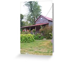 HISTORY IN THE COUNTRY Greeting Card