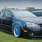 MK5 Golf On Blue BBS by Adam Kennedy