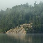 Canadian Shield Bedrock by JimSanders
