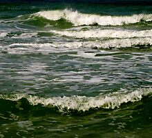Waves #5 by Frank Bibbins