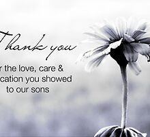 NICU Nurse Day (for care of sons) by Franchesca Cox
