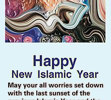 Happy New Islamic Year to all by HAMID IQBAL KHAN