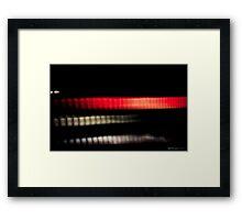 Cylon Heart Framed Print