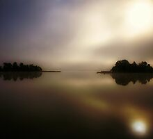 Misty & Mystical Autumn Dawn II by Juhana Tuomi