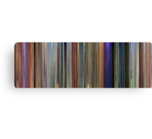 Moviebarcode: Meet the Robinsons (2007) Canvas Print