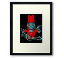 RABBIT 7 (TOXIC TIME) Framed Print