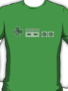 NES Buttons (Transparent) T-Shirt