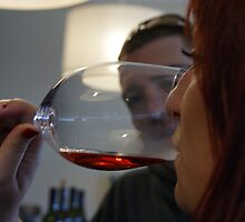 Wine tasting... by CleoJK