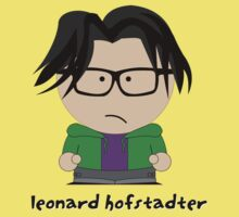 South Park & Big Bang Theory: Leonard Hofstadter by D4RK0