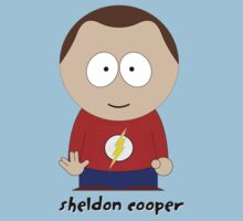 South Park & Big Bang Theory: Sheldon Cooper by D4RK0