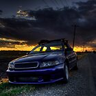 Car Sitting on Road by Chad Ely