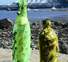 Message in A Bottle Revisited by Pixie-Atelier