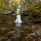Sullivan Falls (Autumn) by Tim Devine
