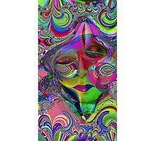 Max Fractal Woman,Psychedelic Pop Art by Alma Lee Photographic Print