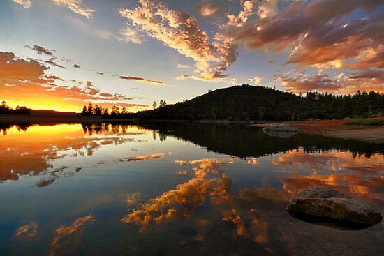 Sunset Buffet by Bob Larson