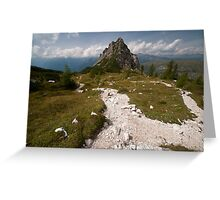 Path to Oblivion Greeting Card