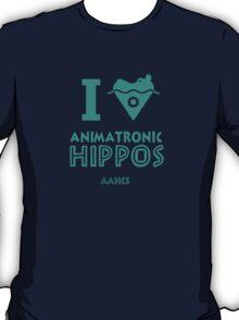 I Heart Animatronic Hippos (AAHCS) T-Shirt