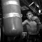 Victor Ortiz Training - Oxnard, California by Alex Zuccarelli