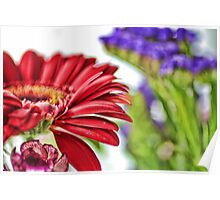Flowers In Bloom Poster