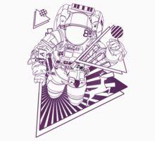 Spaceman lost in deep Cosmos by DjinCo
