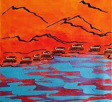 Adobe River by Tara  Henry